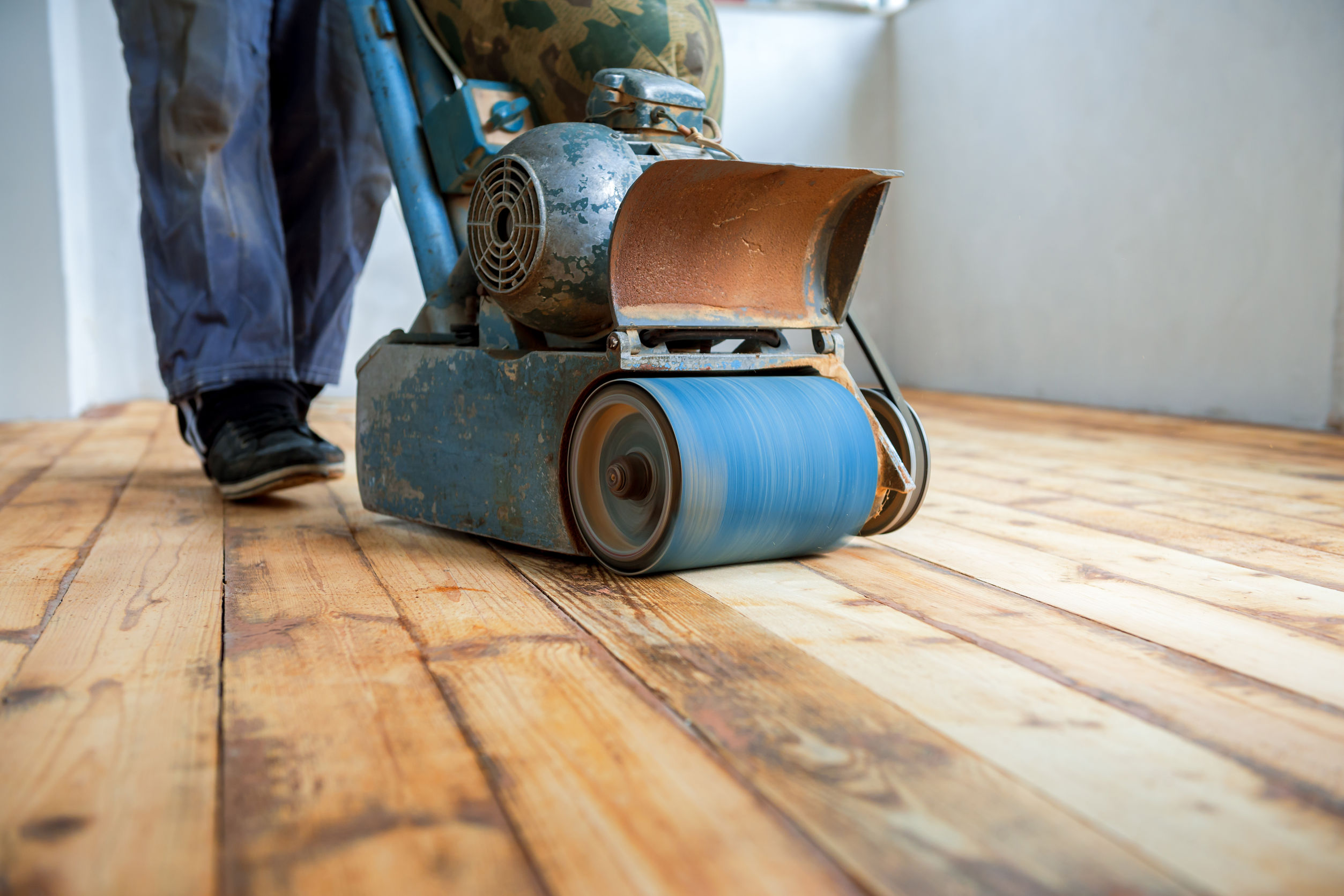 How To Sand Wood Floors Like A Professional Without Leaving