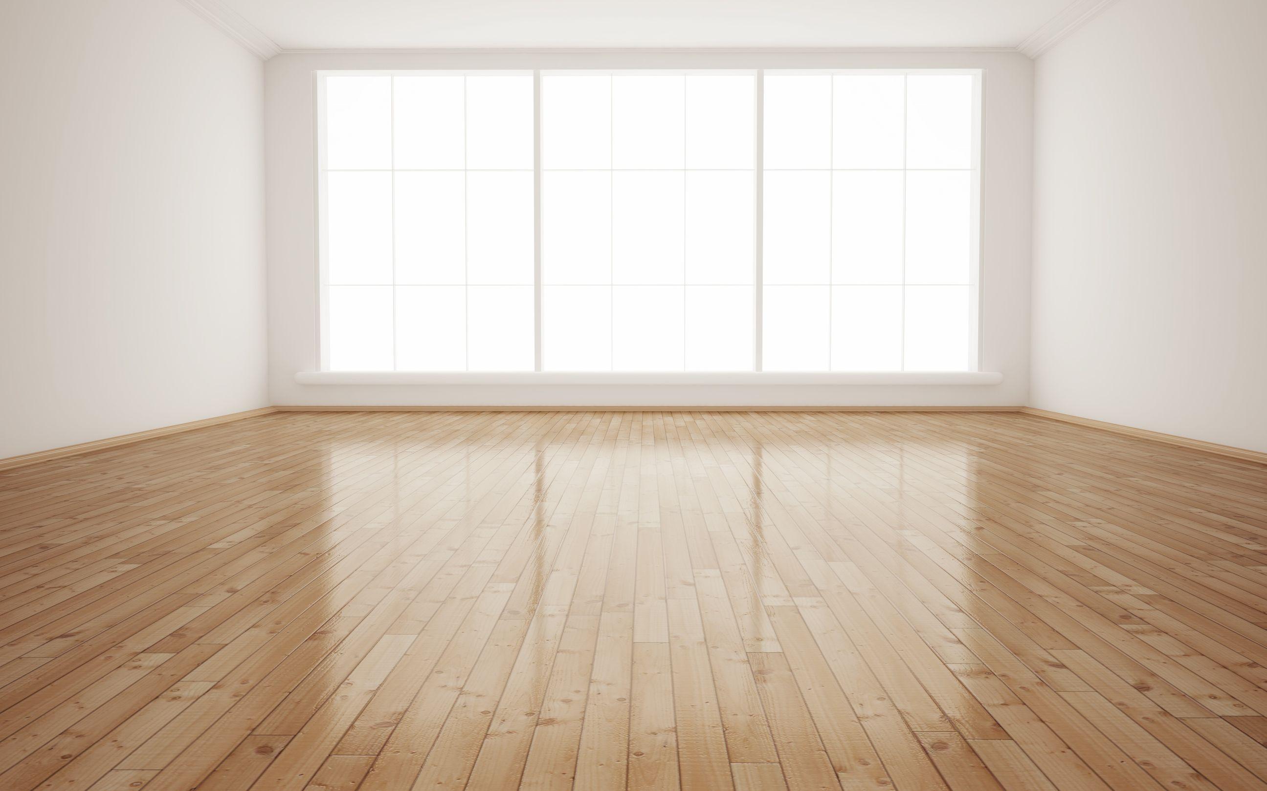Bright interior empty room 3d render for New floor