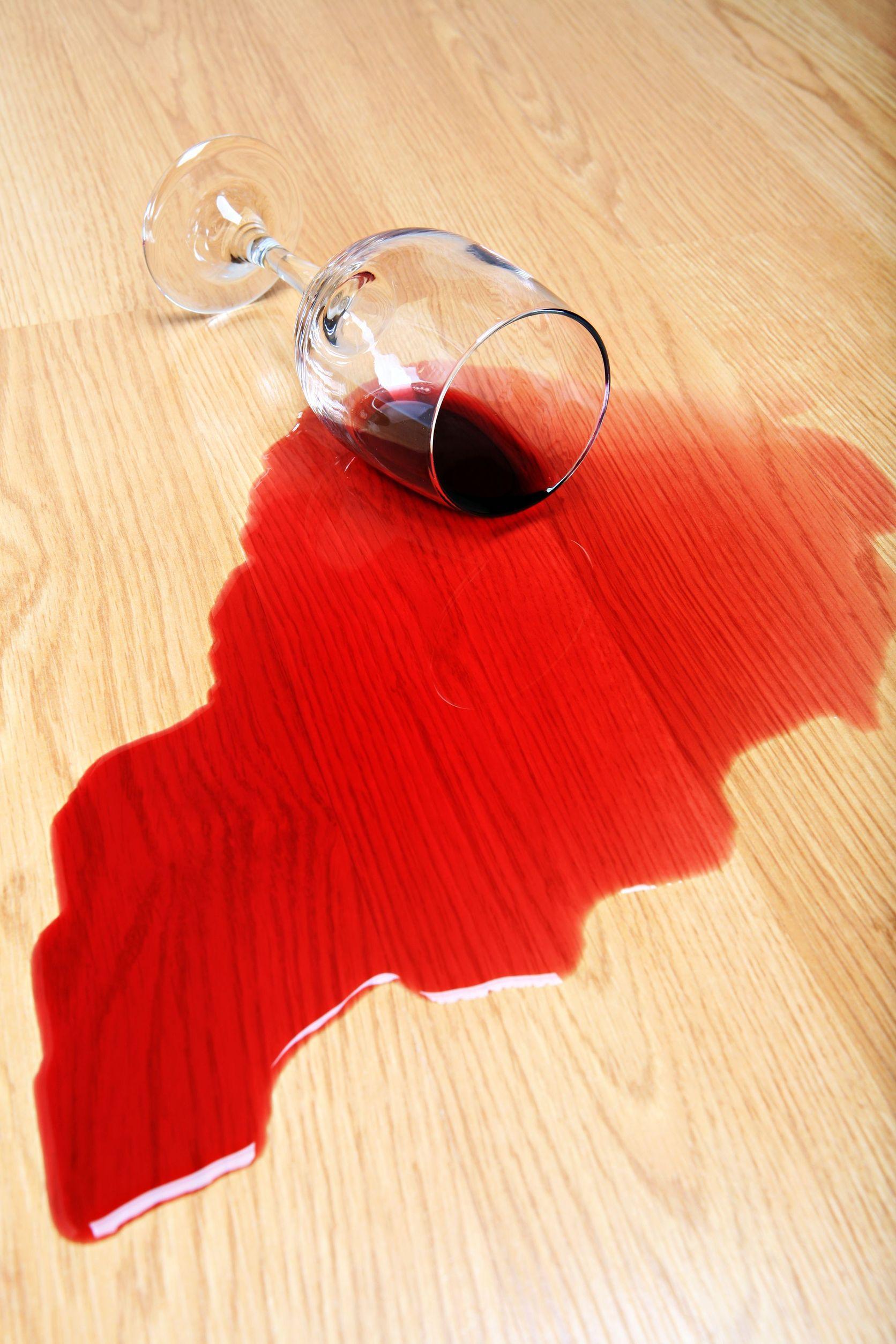 3900518 Wine Spilled On Hardwood Floor Red Wine Glass